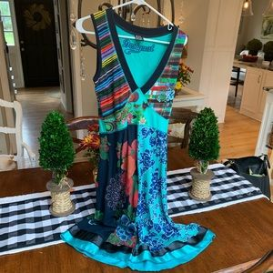 Beautiful Desigual dress! Size Medium!